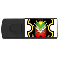 Shield Of The Imperial Iranian Ground Force Rectangular Usb Flash Drive by abbeyz71