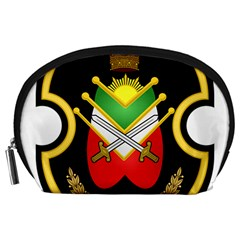 Shield Of The Imperial Iranian Ground Force Accessory Pouches (large)  by abbeyz71