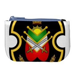 Shield Of The Imperial Iranian Ground Force Large Coin Purse by abbeyz71
