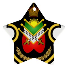 Shield Of The Imperial Iranian Ground Force Ornament (star) by abbeyz71