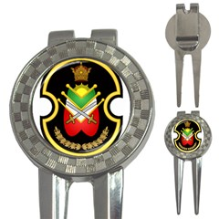 Shield Of The Imperial Iranian Ground Force 3 In 1 Golf Divots by abbeyz71