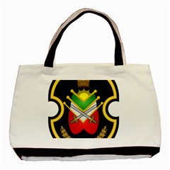 Shield Of The Imperial Iranian Ground Force Basic Tote Bag by abbeyz71