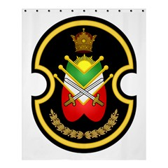 Shield Of The Imperial Iranian Ground Force Shower Curtain 60  X 72  (medium)  by abbeyz71