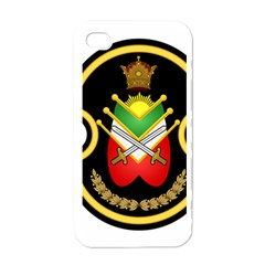 Shield Of The Imperial Iranian Ground Force Apple Iphone 4 Case (white) by abbeyz71