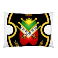 Shield Of The Imperial Iranian Ground Force Pillow Case (two Sides) by abbeyz71