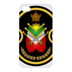Shield Of The Imperial Iranian Ground Force Apple Iphone 4/4s Premium Hardshell Case by abbeyz71