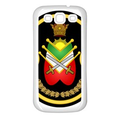 Shield Of The Imperial Iranian Ground Force Samsung Galaxy S3 Back Case (white) by abbeyz71