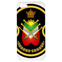 Shield Of The Imperial Iranian Ground Force Apple Iphone 5 Hardshell Case by abbeyz71