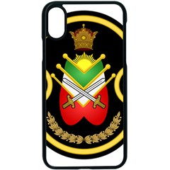 Shield Of The Imperial Iranian Ground Force Apple Iphone X Seamless Case (black) by abbeyz71