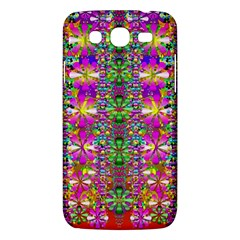 Flower Wall With Wonderful Colors And Bloom Samsung Galaxy Mega 5 8 I9152 Hardshell Case  by pepitasart