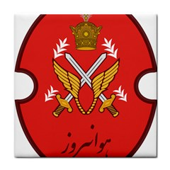 Seal Of The Imperial Iranian Army Aviation  Tile Coasters by abbeyz71