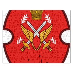 Seal Of The Imperial Iranian Army Aviation  Rectangular Jigsaw Puzzl by abbeyz71
