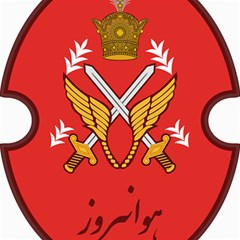 Seal Of The Imperial Iranian Army Aviation  Canvas 12  X 12   by abbeyz71