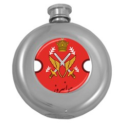 Seal Of The Imperial Iranian Army Aviation  Round Hip Flask (5 Oz) by abbeyz71