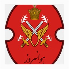 Seal Of The Imperial Iranian Army Aviation  Medium Glasses Cloth (2 Side) by abbeyz71