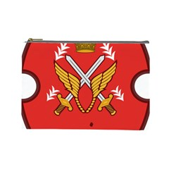 Seal Of The Imperial Iranian Army Aviation  Cosmetic Bag (large)  by abbeyz71