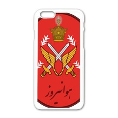 Seal Of The Imperial Iranian Army Aviation  Apple Iphone 6/6s White Enamel Case by abbeyz71