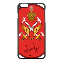 Seal Of The Imperial Iranian Army Aviation  Apple Iphone 6 Plus/6s Plus Black Enamel Case by abbeyz71