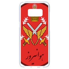Seal Of The Imperial Iranian Army Aviation  Samsung Galaxy S8 White Seamless Case