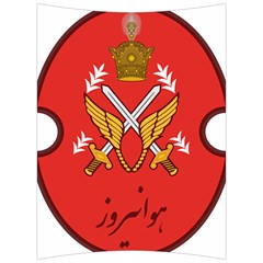 Seal Of The Imperial Iranian Army Aviation  Back Support Cushion by abbeyz71