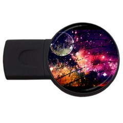 Letter From Outer Space Usb Flash Drive Round (2 Gb) by augustinet