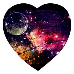 Letter From Outer Space Jigsaw Puzzle (heart) by augustinet