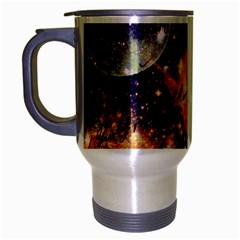 Letter From Outer Space Travel Mug (silver Gray) by augustinet
