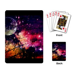 Letter From Outer Space Playing Card by augustinet