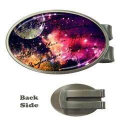 Letter From Outer Space Money Clips (oval)  by augustinet