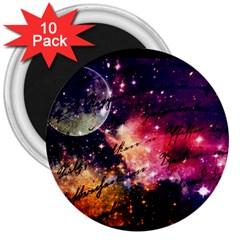 Letter From Outer Space 3  Magnets (10 Pack)  by augustinet