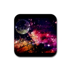 Letter From Outer Space Rubber Coaster (square)  by augustinet