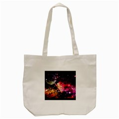 Letter From Outer Space Tote Bag (cream) by augustinet