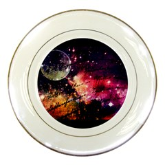 Letter From Outer Space Porcelain Plates by augustinet