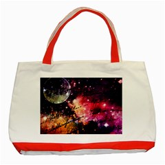 Letter From Outer Space Classic Tote Bag (red) by augustinet