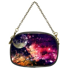 Letter From Outer Space Chain Purses (two Sides)  by augustinet