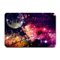 Letter From Outer Space Small Doormat  by augustinet