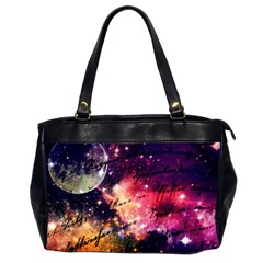 Letter From Outer Space Office Handbags (2 Sides)  by augustinet