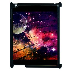 Letter From Outer Space Apple Ipad 2 Case (black) by augustinet