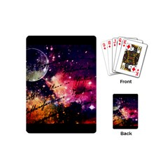 Letter From Outer Space Playing Cards (mini)  by augustinet