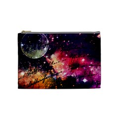 Letter From Outer Space Cosmetic Bag (medium)  by augustinet