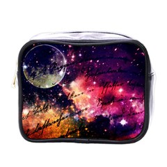 Letter From Outer Space Mini Toiletries Bags by augustinet