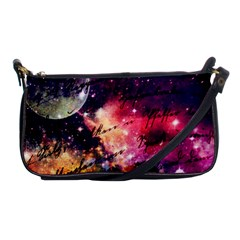 Letter From Outer Space Shoulder Clutch Bags by augustinet