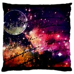 Letter from outer space Large Cushion Case (Two Sides) Front