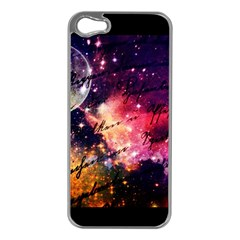 Letter From Outer Space Apple Iphone 5 Case (silver) by augustinet