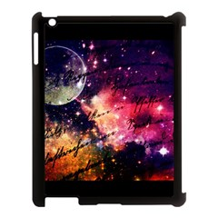 Letter From Outer Space Apple Ipad 3/4 Case (black) by augustinet