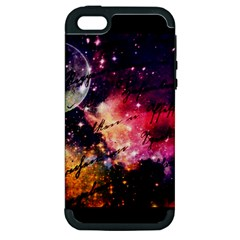 Letter From Outer Space Apple Iphone 5 Hardshell Case (pc+silicone) by augustinet