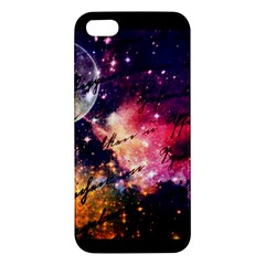 Letter From Outer Space Apple Iphone 5 Premium Hardshell Case by augustinet