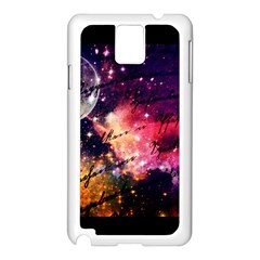 Letter From Outer Space Samsung Galaxy Note 3 N9005 Case (white) by augustinet