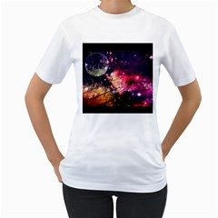 Letter From Outer Space Women s T Shirt (white)  by augustinet