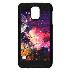 Letter From Outer Space Samsung Galaxy S5 Case (black) by augustinet